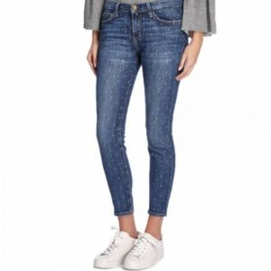 Current/Elliott jeans The Stiletto white stars